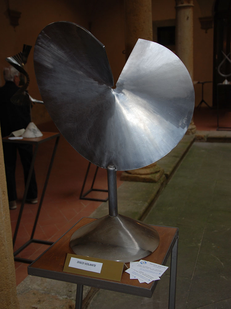 Disco volante - Daniele Bianchi - Arte di parte 2019